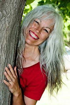 Grey haired granny pics